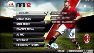 FIFA 12 PSP gameplay HD
