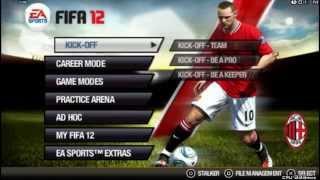 FIFA 12 PSP gameplay HD
