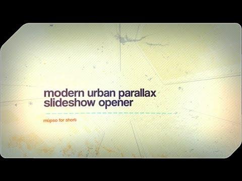 Modern Urban Parallax Slideshow Opener After Effects Template   Summer Future Bass Royalty Free Musi