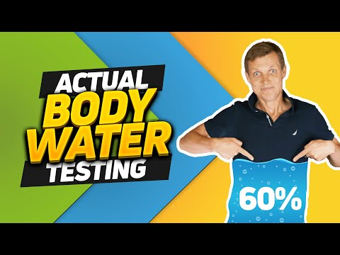 Am I Really 60% Water? Actual Measurement Of Body Water Percentage