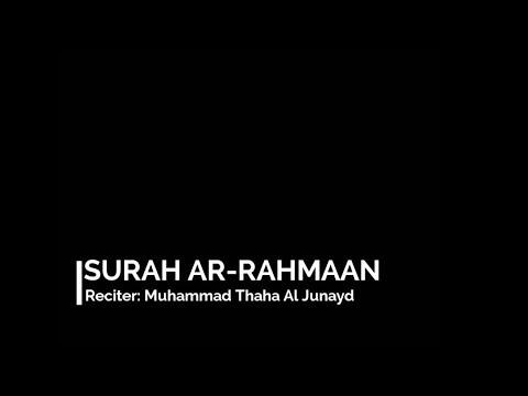 surat-ar-rahman-|-muhammad-thaha-al-junayd