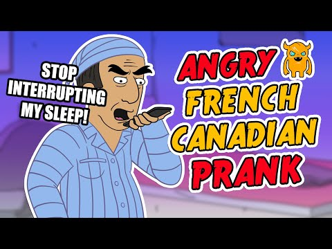 Angry French Canadian Loses It - Ownage Pranks