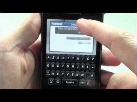 Blackberry Storm2 9520 - Démonstration, prise en main et test