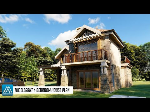 the-elegant-4-bedroom-house-plan---3d-fly-through-complete-with-floor-plans