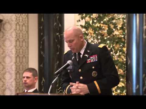 ETSU ROTC Fall Commissioning Ceremoney December 11th 2015