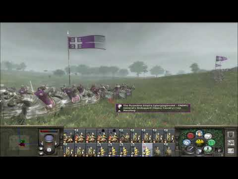 "Medieval 2 Total War Online Battle #179: ""HRE vs Byzantines 1 vs 1"""