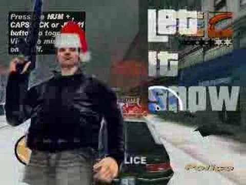 Grand Theft Auto 3 Snow Mod - YouTube