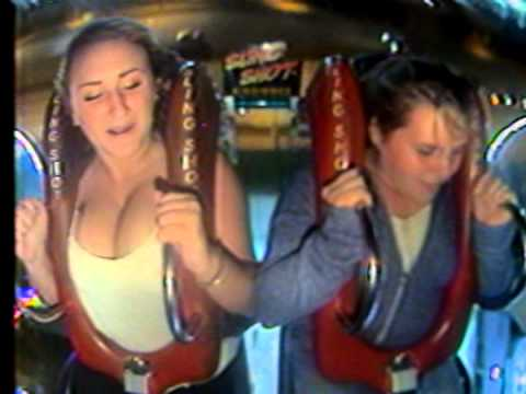Boob flashing on a rollercoaster accept. The