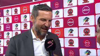Absa Premiership | Polokwane City v Orlando Pirates | Post-match interview with Josef Zinnbauer