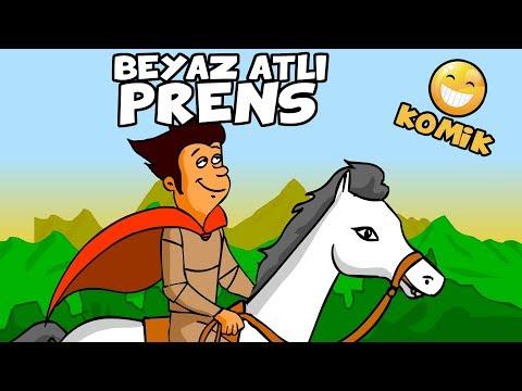 BEYAZ ATLI PRENS | Komik Çizgi Film Animasyon