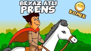 BEYAZ ATLI PRENS  Komik Çizgi Film Animasyon
