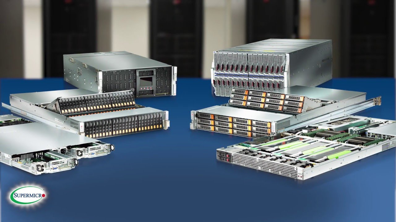 Supermicro's New Generation Servers Supporting Intel Xeon E5 2600 V4  (Broadwell) Product Family 2