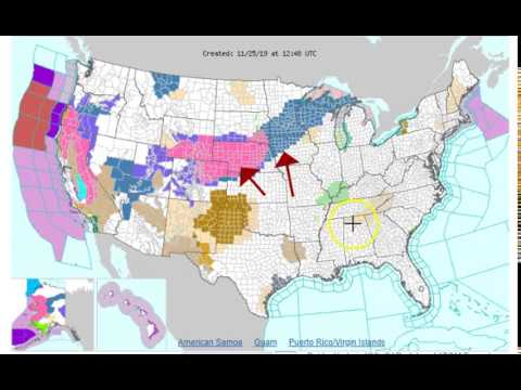 Snow Warnings & More In Todays Weather Forecast 11/25/19