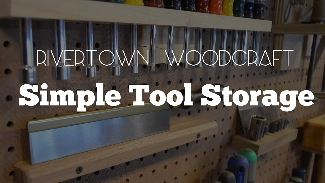 Making Some Simple Tool Storage Solutions