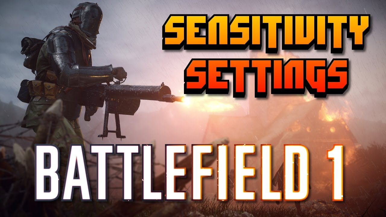 Download Console Sensitivity Settings for Battlefield 1 | Top 5 BF4 Player in USA