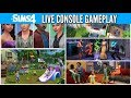 The Sims 4 : Consoles Gameplay Base Game EA Live Stream (November 6th, 2017)