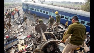 Train Accident With Police Van | Train Accident |