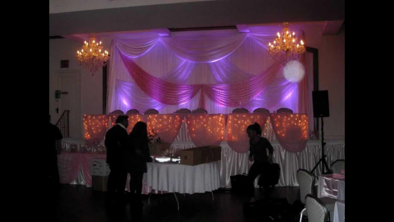 Purple Sweet 16 Decorations