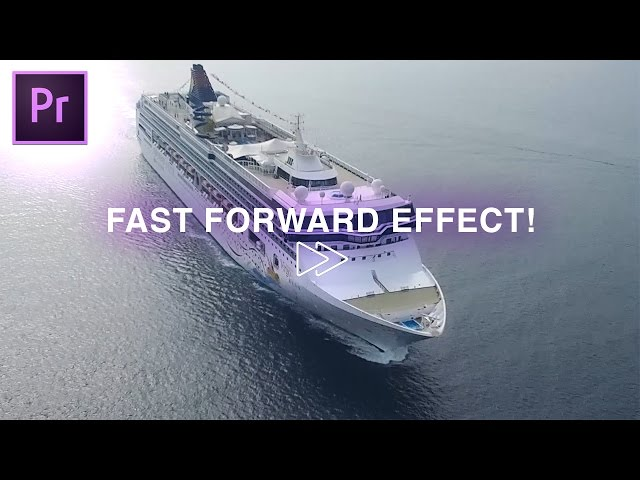 Adobe Premiere Pro Tutorial: Fast Forward Effect (How to Speed Up Footage in Bursts)(CC 2017)
