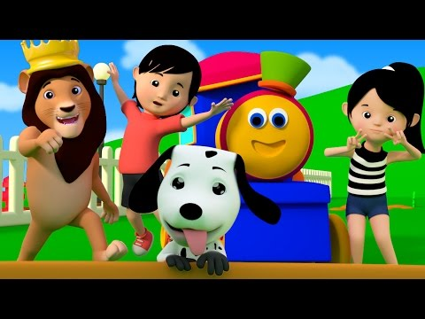 If You're Happy And You Know It | kids youtube | kids tv song | bob the train