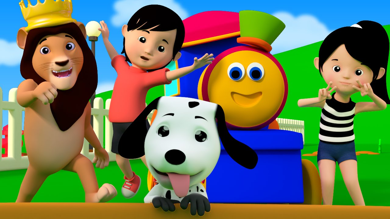 85d5f2fab55320 If You're Happy And You Know It | kids youtube | kids tv song | bob the  train - YouTube