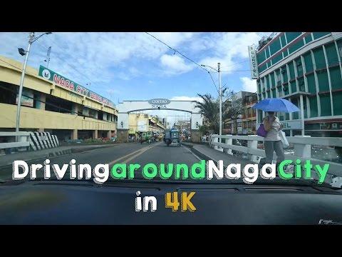 [4K Timelapse -  Sony FDR-X3000] Driving around Naga City