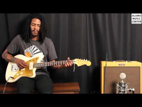 Squier J Masics Signature Jazzmaster Sound Demo
