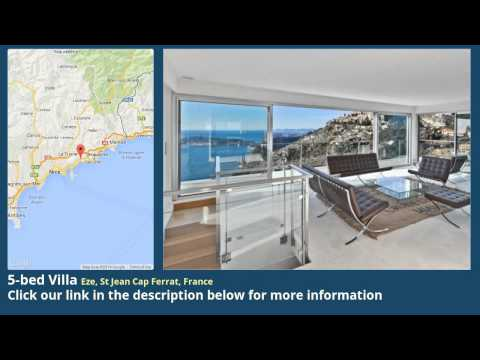 5-bed Villa for Sale in Eze, St Jean Cap Ferrat, France on frenchlife.biz