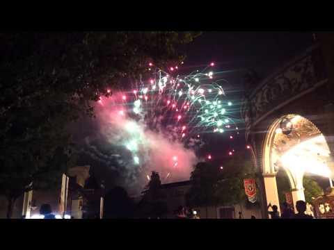 20130524 Everland daily-closing fireworks