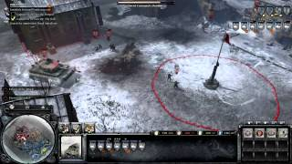 Company of Heroes 2 - Walkthrough Gameplay - General - 12. Poznan Citadel [Part 2]