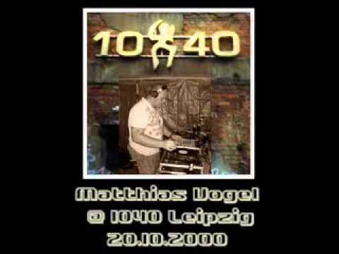 Matthias Vogel  @ 10/40 Leipzig  - 20.10.2000