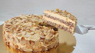 знаменитый Шведский миндальный торт из ИКЕА без муки и глютена Очень быстро и вкусно