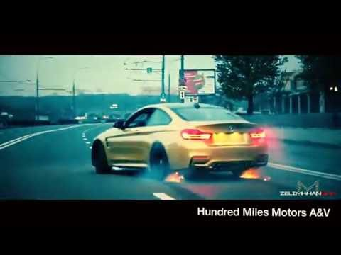 BMW M4 - Crazy drifting! (Moscow City)