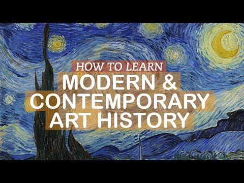 How to Learn Modern and Contemporary Art History | LittleArtTalks