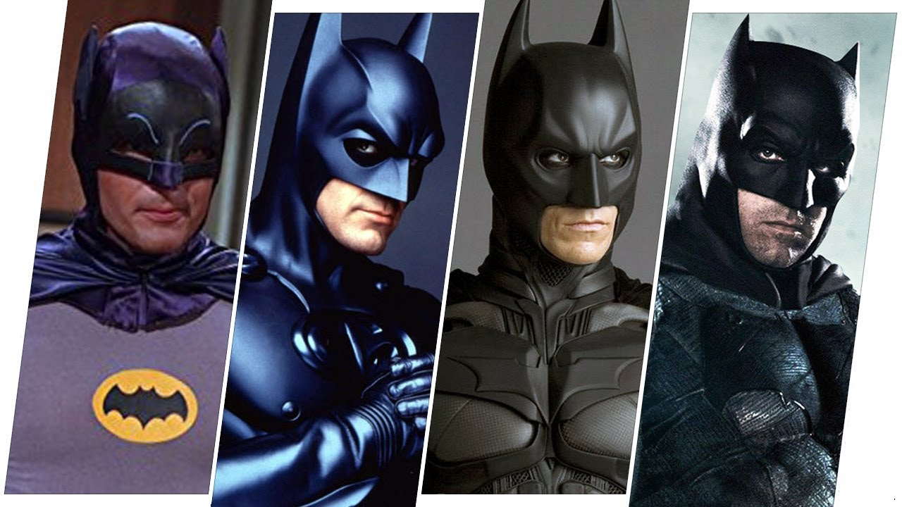 Batman Evolution in Movies & TV(2021)