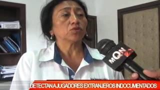 DETECTAN A JUGADORES EXTRANJEROS INDOCUMENTADOS