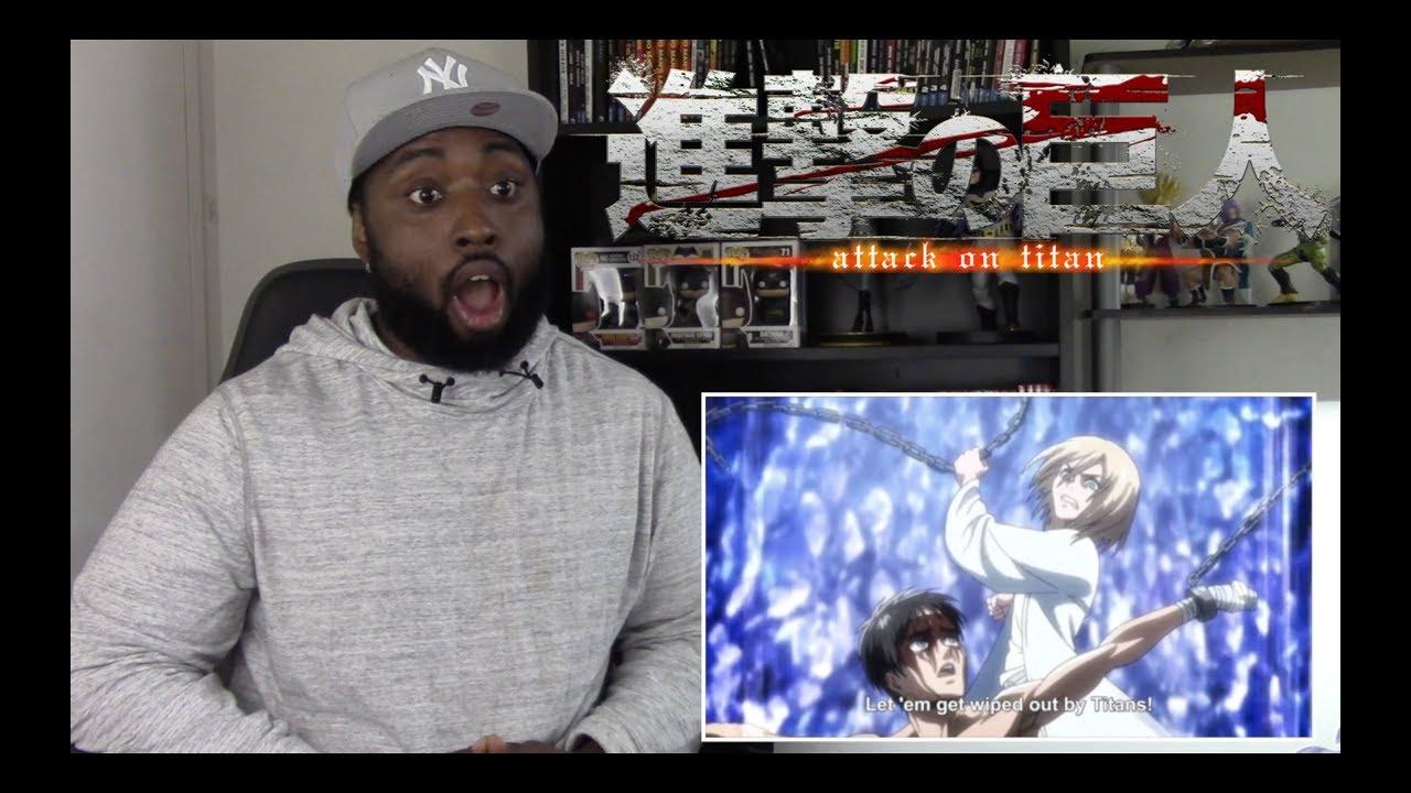 "Attack on Titan REACTION - 3x7 ""Wish"" - YouTube"