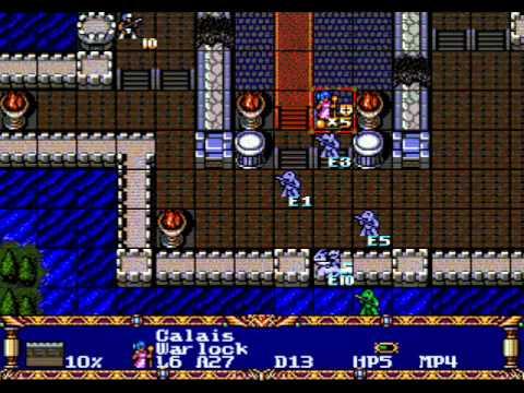 Stage One Warsong/Langrisser (1991) Sega Genesis