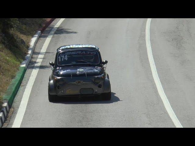 SVOLTE DI POPOLI 2019 ETTORE LIBERATO FIAT 500