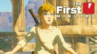 The First 15 Minutes of The Legend of Zelda: Breath of the Wild on Wii U