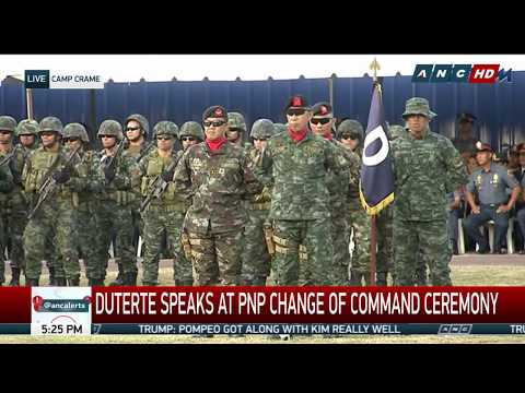 WATCH: President Duterte speaks at the PNP Change of Command ceremony Part 2 | 19 April 2018