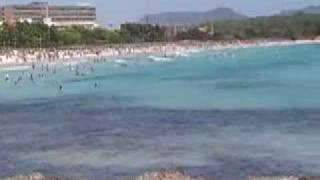 Sa Coma Beach, Majorca, July 2007
