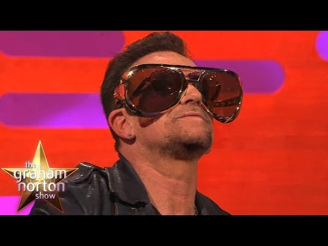 Bono Reveals Reason He Always Wears Sunglasses - The Graham