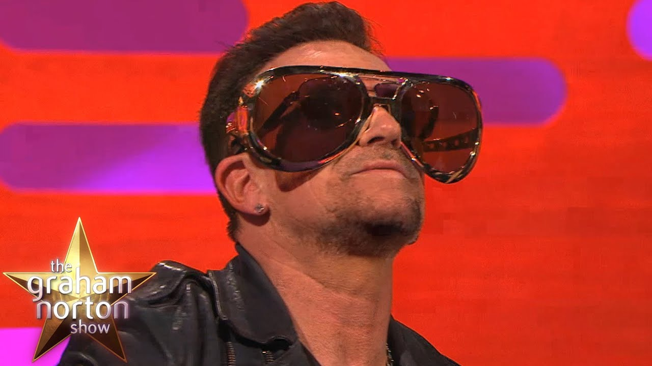 Bono Reveals Reason He Always Wears Sunglasses