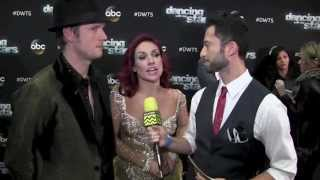 Nick Carter & Sharna Burgess @ Dancing With The Stars Season 21 Week 10 I AfterBuzz TV