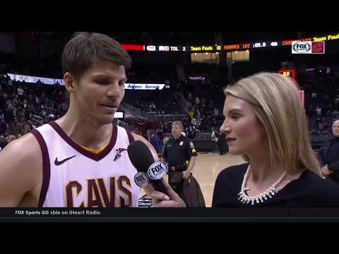 Kyle Korver after big win in Atlanta: 'I think everyone played together' l CAVALIERS-HAWKS POSTGAME