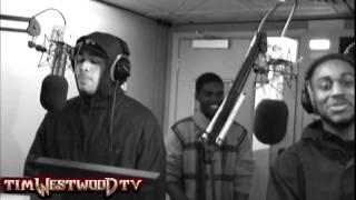 Westwood - Brutal, Dot Rotten, Shimmer & Kurrupt freestyle 1Xtra