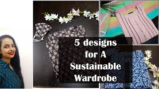 Kurtas/suits for Nature and Human friendly clothing I sustainable Indian fashion