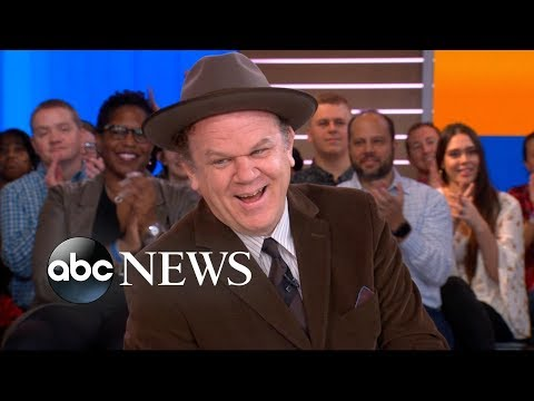 John C. Reilly dishes on 'Ralph Breaks the Internet'