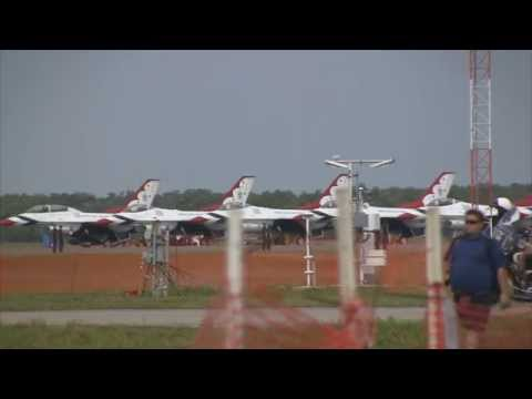 USAF Thunderbirds Saturday (with comms) - Sun N' Fun 2015